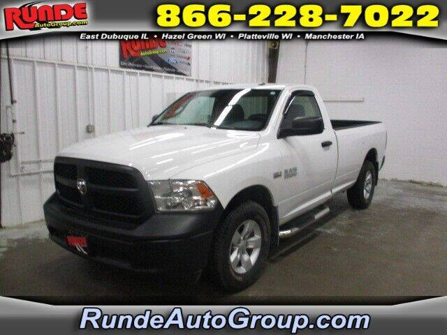 2016 RAM Ram Pickup 1500 for sale at Runde Chevrolet in East Dubuque IL