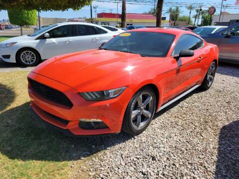 2015 Ford Mustang for sale at A AND A AUTO SALES in Gadsden AZ
