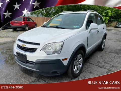2014 Chevrolet Captiva Sport for sale at Blue Star Cars in Jamesburg NJ