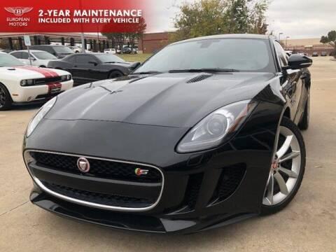 2015 Jaguar F-TYPE for sale at European Motors Inc in Plano TX
