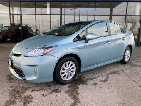 2013 Toyota Prius Plug-in Hybrid for sale at South Commercial Auto Sales in Salem OR