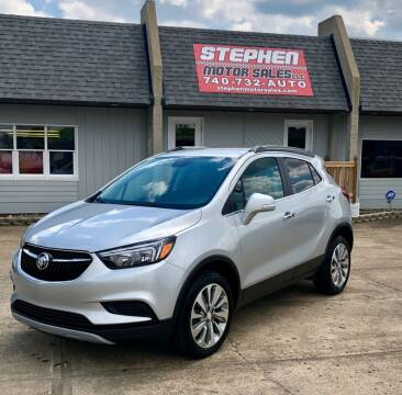 2017 Buick Encore for sale at Stephen Motor Sales LLC in Caldwell OH