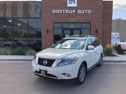 2013 Nissan Pathfinder for sale at Dastrup Auto in Lindon UT