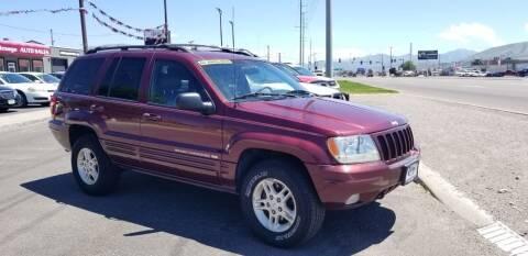 1999 Jeep Grand Cherokee for sale at Auto Image Auto Sales in Pocatello ID
