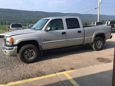 2006 GMC Sierra 2500HD for sale at Troys Auto Sales in Dornsife PA