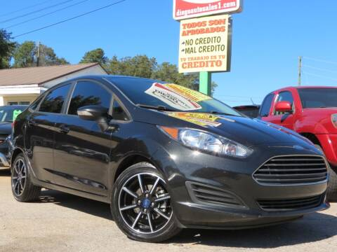 2015 Ford Fiesta for sale at Diego Auto Sales #1 in Gainesville GA