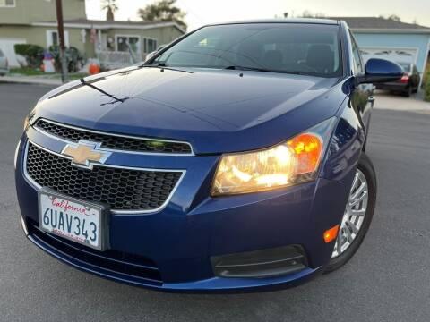 2012 Chevrolet Cruze for sale at Gold Coast Motors in Lemon Grove CA