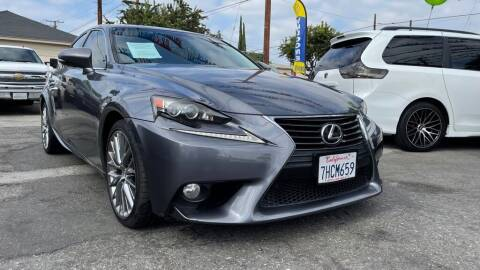 2014 Lexus IS 250 for sale at Tristar Motors in Bell CA