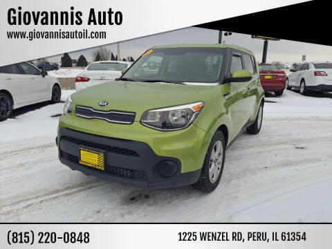 2017 Kia Soul for sale at Giovannis Auto in Peru IL