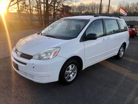 2004 Toyota Sienna for sale at Access Auto in Cabot AR