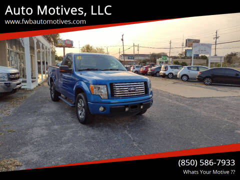 2011 Ford F-150 for sale at Auto Motives, LLC in Fort Walton Beach FL