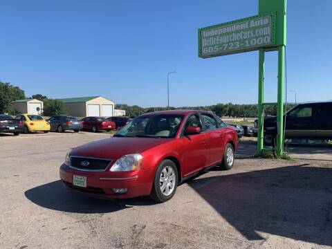 2006 Ford Five Hundred for sale at Independent Auto in Belle Fourche SD