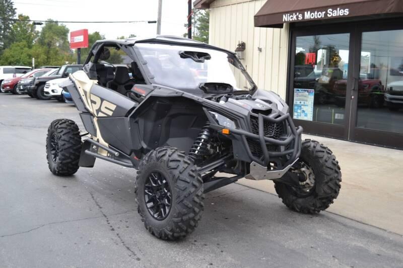 2021 Can-Am Maverick X3 for sale at Nick's Motor Sales LLC in Kalkaska MI