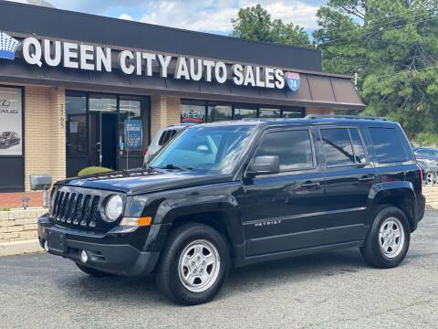 2017 Jeep Patriot for sale at Queen City Auto Sales in Charlotte NC