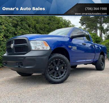 2016 RAM Ram Pickup 1500 for sale at Omar's Auto Sales in Martinez GA