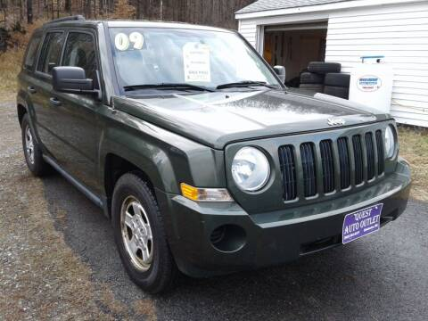 2009 Jeep Patriot for sale at Quest Auto Outlet in Chichester NH