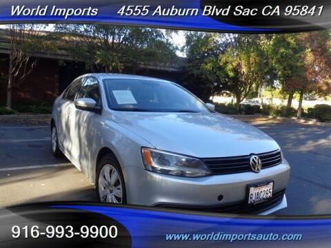 2014 Volkswagen Jetta for sale at World Imports in Sacramento CA