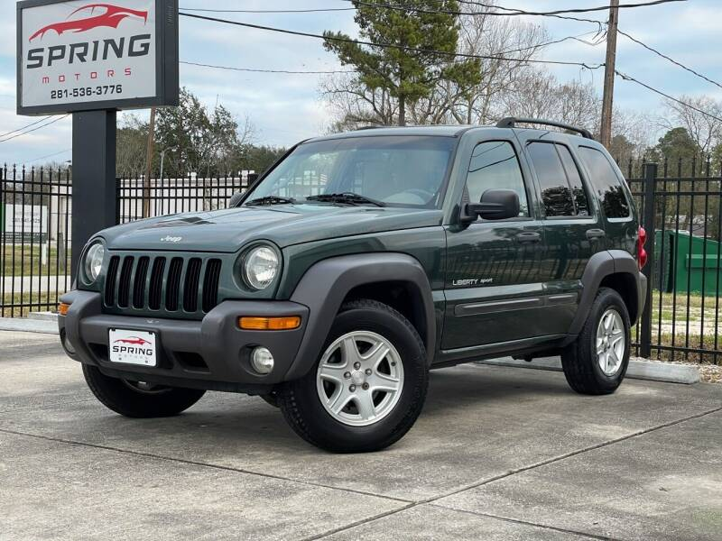 2003 Jeep Liberty for sale at Spring Motors in Spring TX