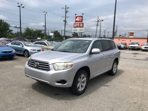 2009 Toyota Highlander for sale at 4th Street Auto in Louisville KY