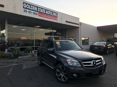 2010 Mercedes-Benz GLK for sale at Golden State Auto Inc. in Rancho Cordova CA