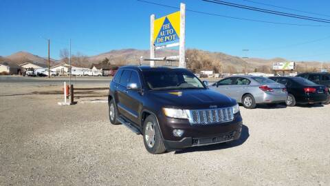 2012 Jeep Grand Cherokee for sale at Auto Depot in Carson City NV