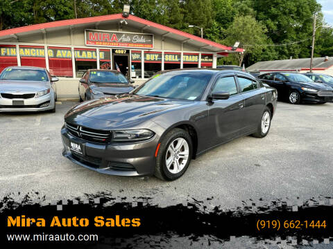 2016 Dodge Charger for sale at Mira Auto Sales in Raleigh NC