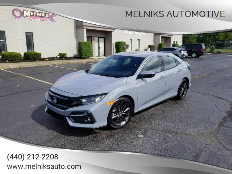 2021 Honda Civic for sale at Melniks Automotive in Berea OH