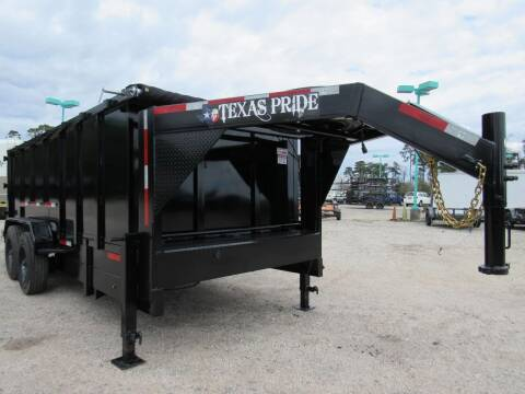 2021 TEXAS PRIDE 7' X 16' X 4' Dump for sale at Park and Sell - Trailers in Conroe TX