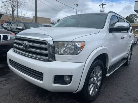 2012 Toyota Sequoia for sale at Magic Motors Inc. in Snellville GA