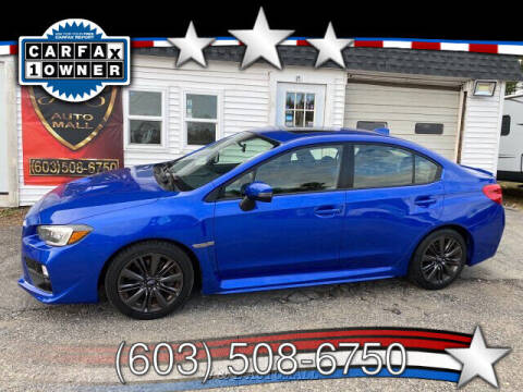 2016 Subaru WRX Limited 6M 6-Speed Manual for sale at J & E AUTOMALL in Pelham NH