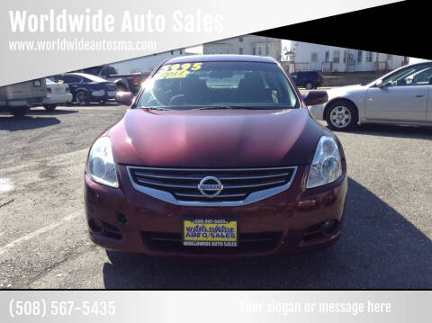 2011 Nissan Altima for sale at Worldwide Auto Sales in Fall River MA