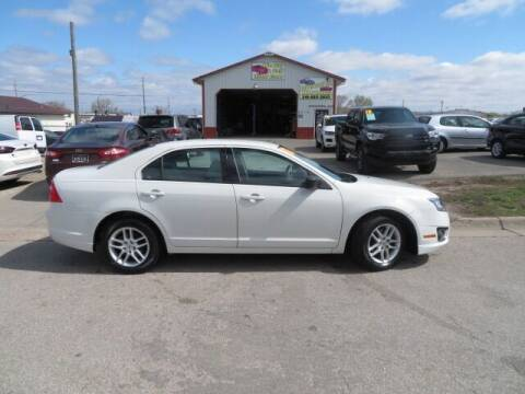 2012 Ford Fusion for sale at Jefferson St Motors in Waterloo IA