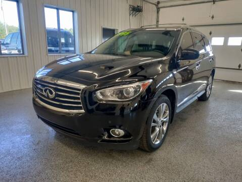 2013 Infiniti JX35 for sale at Sand's Auto Sales in Cambridge MN
