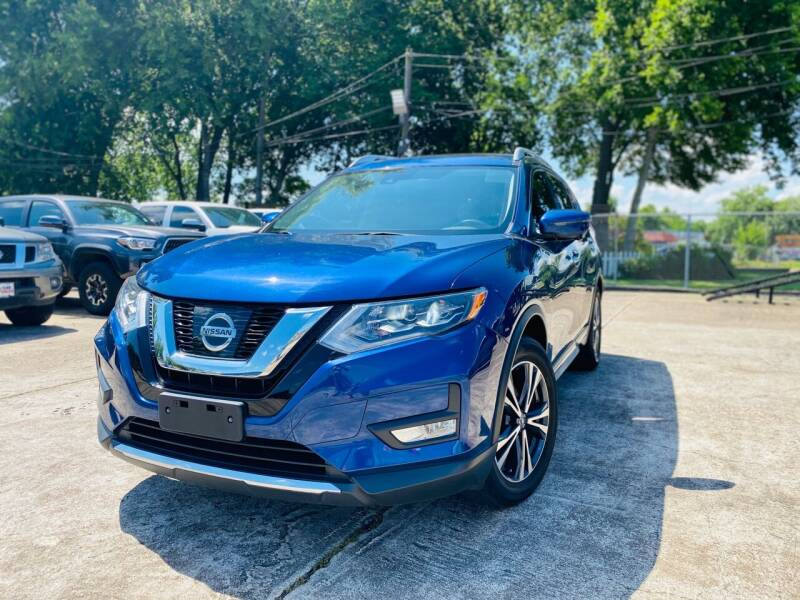 2017 Nissan Rogue for sale at HOUSTON CAR SALES INC in Houston TX