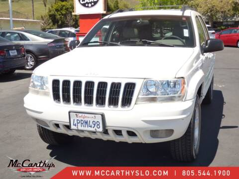 2001 Jeep Grand Cherokee for sale at McCarthy Wholesale in San Luis Obispo CA