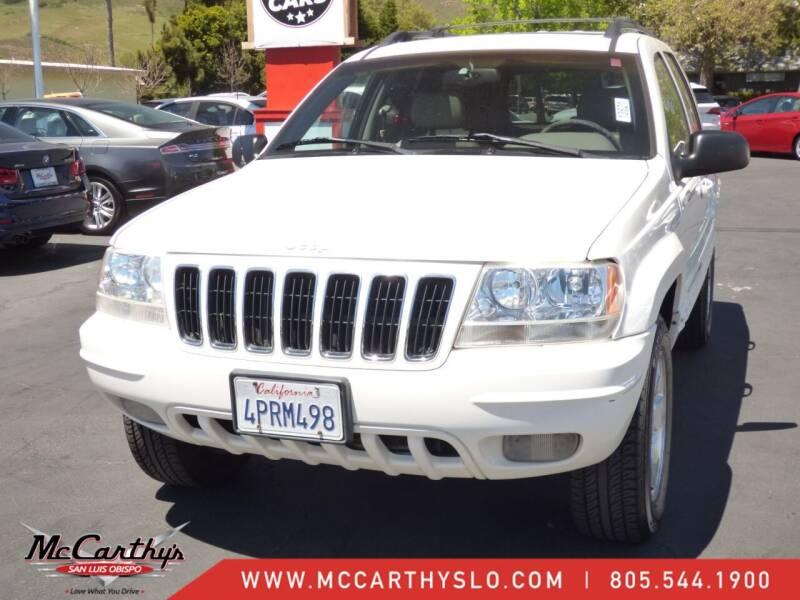 2001 Jeep Grand Cherokee for sale at McCarthy Wholesale in San Luis Obispo CA