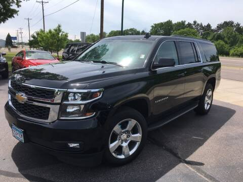 2015 Chevrolet Suburban for sale at Premier Motors LLC in Crystal MN