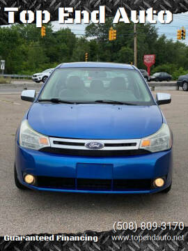 2010 Ford Focus for sale at Top End Auto in North Atteboro MA