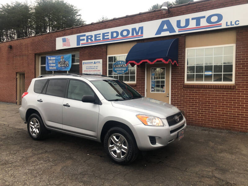 2011 Toyota RAV4 for sale at FREEDOM AUTO LLC in Wilkesboro NC