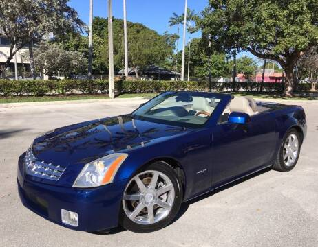 2004 Cadillac XLR for sale at FIRST FLORIDA MOTOR SPORTS in Pompano Beach FL