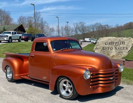 1949 Chevrolet 3100 for sale at Griffith Auto Sales in Home PA