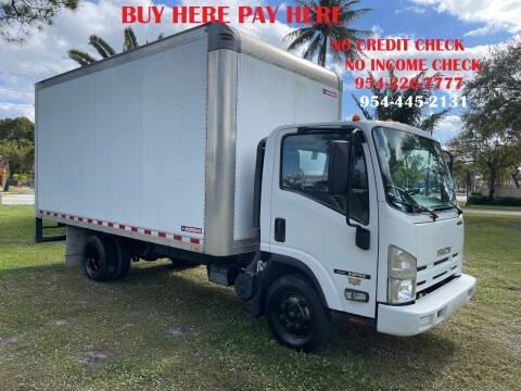 2015 Isuzu NPR for sale at Transcontinental Car USA Corp in Fort Lauderdale FL