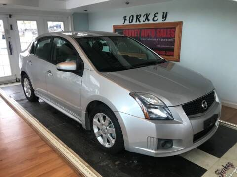 2011 Nissan Sentra for sale at Forkey Auto & Trailer Sales in La Fargeville NY