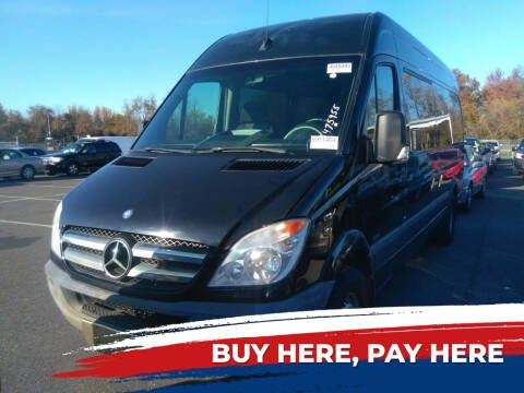 2012 Mercedes-Benz Sprinter Passenger for sale at MOUNT EDEN MOTORS INC in Bronx NY