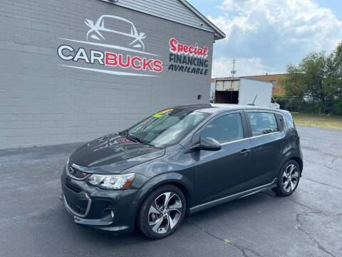 2019 Chevrolet Sonic for sale at Carbucks in Hamilton OH