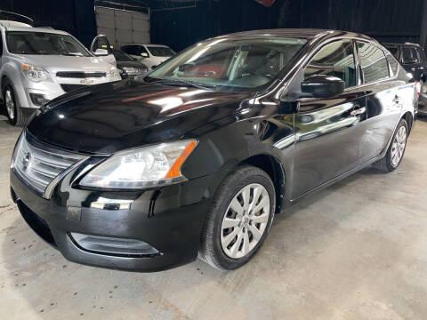 2015 Nissan Sentra for sale at Safe Trip Auto Sales in Dallas TX