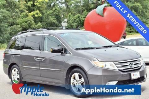 2013 Honda Odyssey for sale at APPLE HONDA in Riverhead NY