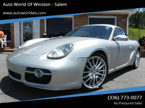 2006 Porsche Cayman for sale at Auto World Of Winston - Salem in Winston Salem NC