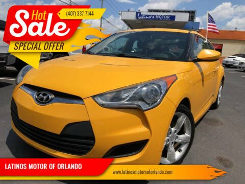 2013 Hyundai Veloster for sale at LATINOS MOTOR OF ORLANDO in Orlando FL