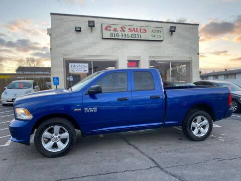 2015 RAM Ram Pickup 1500 for sale at C & S SALES in Belton MO